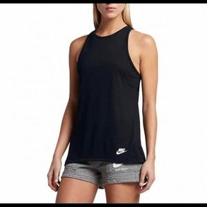 Nike Tops - NWT NIKE High Neck Workout Tank